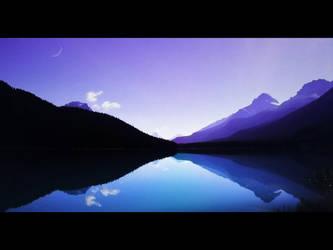 Mountain Reflection by pickupjojo