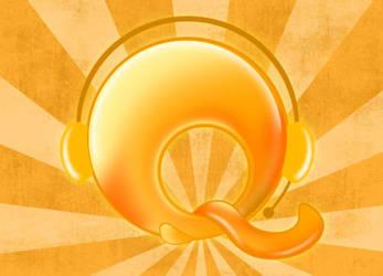 Print - Logo - Q by n1coode