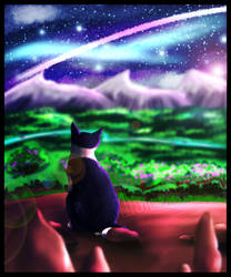 .:TWG:. As the Sun Sets, I Gaze at the Stars by m1tchi3Du5k