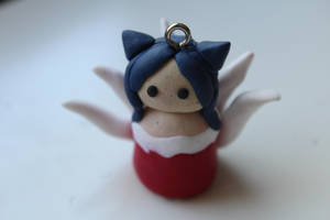 League of Legends - Ahri clay charm by CurrentlyLoading