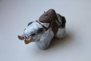 League of Legends - Sejuani's boar clay charm by CurrentlyLoading