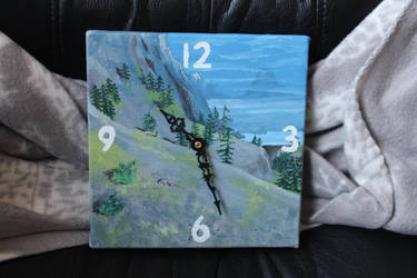 Guild Wars 2 inspired clock by CurrentlyLoading