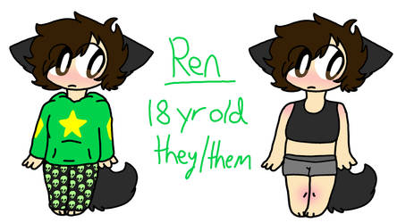 Ren(persona) - Reference by PainterPeasant