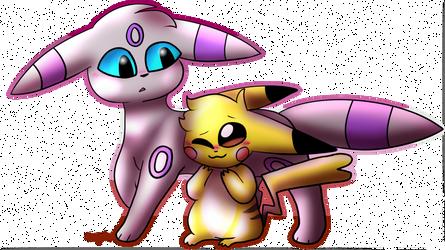 cute pokemon lesbians by PainterPeasant