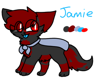 Jamie's Reference (2018/2019) by PainterPeasant