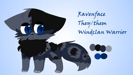 Ravenface Reference by PainterPeasant