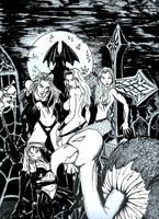 4 vampires by davampire