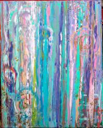 Neon Tree Bark by bobbiLyn