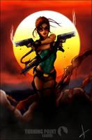 Lara Croft Tomb Raider Fan Art by LitoPerezito