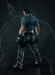 Turning Point Web -  Chris Redfield by LitoPerezito