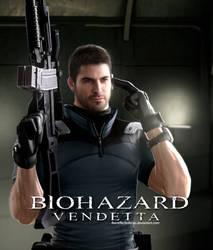 Resident Evil Vendetta - Chris Redfield Render by LitoPerezito