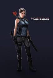Shadow of the Tomb Raider's Lara Croft by LitoPerezito