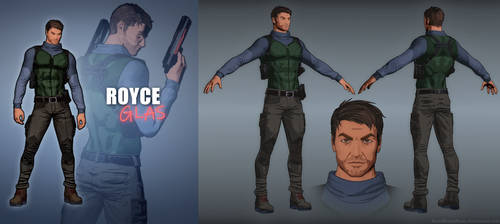 Royce Glas Remade - Fear Effect by LitoPerezito