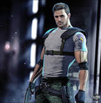 Director's Cut Chris Redfield by LitoPerezito