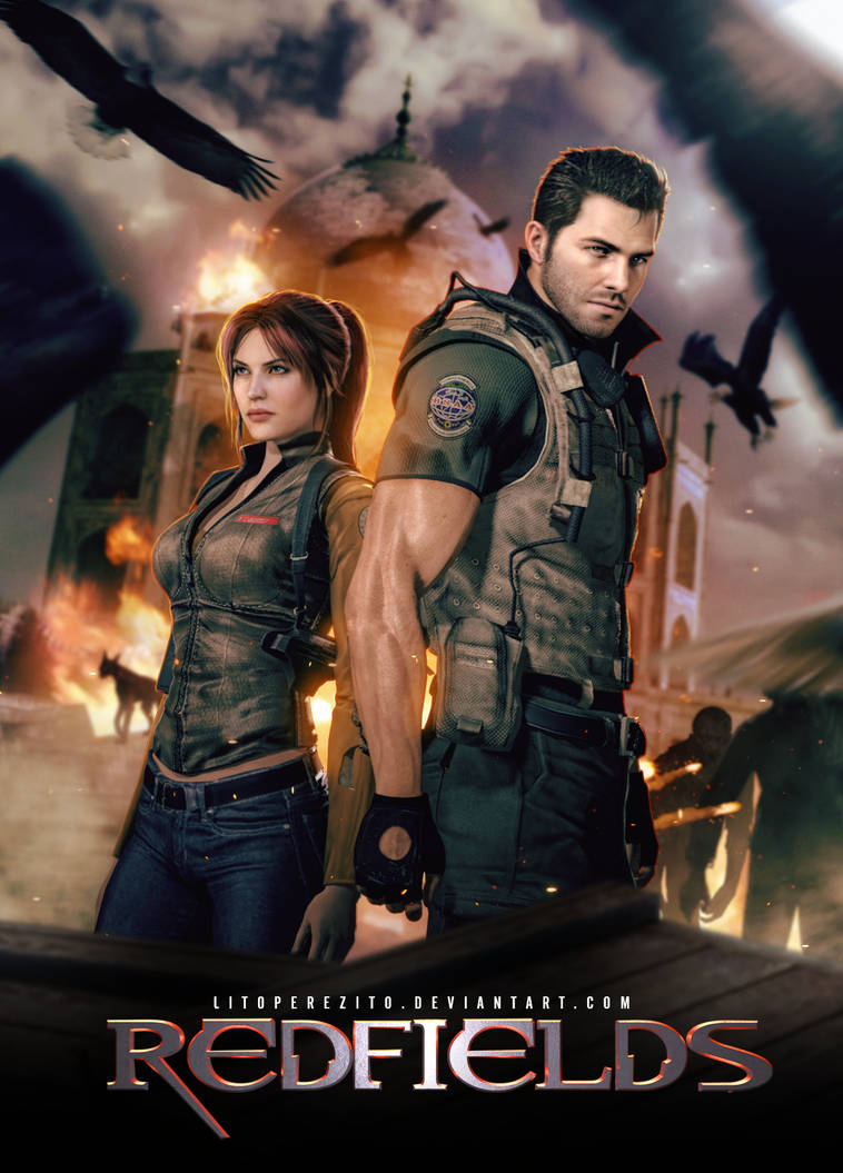 Resident Evil's Redfields by LitoPerezito