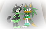 Green Cuties (.:Finished Art Trade:.) by Anthony598