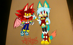 Kyle and Kyrah by Anthony598