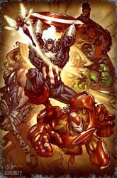 Avengers by Snakebite by johjames