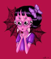 Spider Girl by morbid-morsel