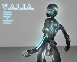 V.A.L.I.A. Tron Version by JPL-Animation