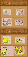 mystery dungeon red rescue team - team cutetail by akarifan25