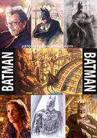 Batman collection by aaronwty