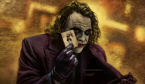 The Joker's Namecard by aaronwty