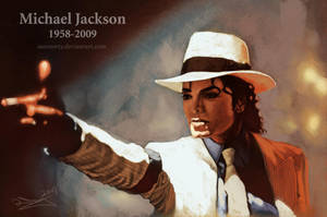 Michael Jackson by aaronwty