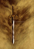 Fantasy Sword design by aaronwty