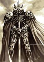 Fantasy Warrior sketch by aaronwty