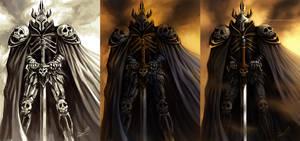 Fantasy Warrior - steps by aaronwty