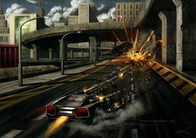 Battle Racing game concept by aaronwty