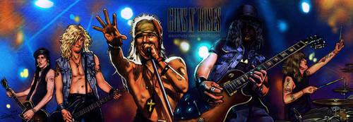 Guns n Roses by aaronwty