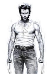 Logan - tribute to Hugh Jackman by aaronwty