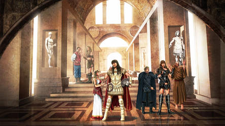 Xena - The Heir To Alexander by aaronwty