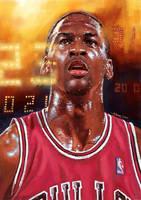 Michael Jordan in Bulls by aaronwty