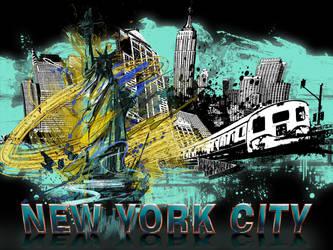 NYC by SmoovArt