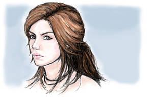 Lady Lara Croft by J3ckyll