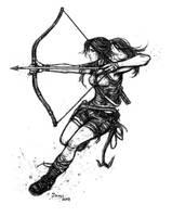 Brave Young Lara by J3ckyll