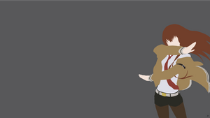 Makise Kurisu {Steins Gate} by greenmapple17
