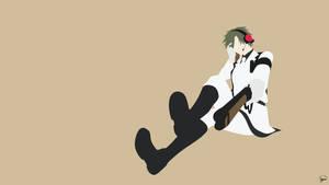 Nagamasa Midori (Aoharu x Kikanjuu) Minimalism by greenmapple17
