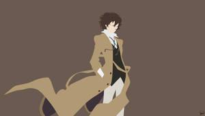 Dazai Osamu (Bungou Stray Dogs) Minimalism by greenmapple17