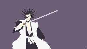 Kenpachi Zaraki {Bleach} by greenmapple17