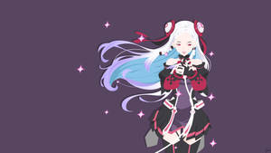Yuna {Sword Art Online: Ordinal Scale} Vector by greenmapple17