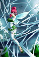 Fairy Cherry's Scary Halloween by spiderweber