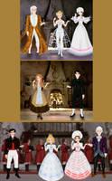 La Cenerentola in Snow Scene by Arrelline