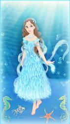 Aquamarine - birthstone contest by Arrelline