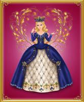 Model Challenge - Dawn - Round 3-4 - Crown + gown by Arrelline