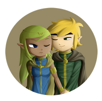 Link+Tetra Royalty by Icy-Snowflakes