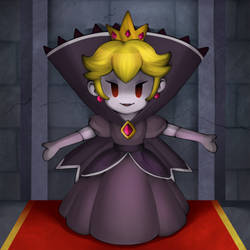 Mario's Blacklist: Shadow Peach by Icy-Snowflakes